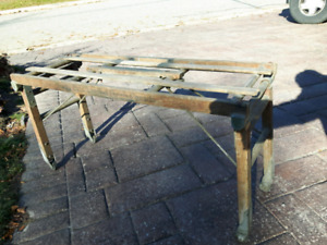 Antique Foldable Bath Stand Canadian Made