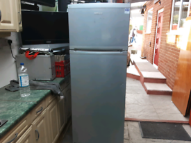 Large BEKO Fridge Freezer Silver Working Can Deliver locally