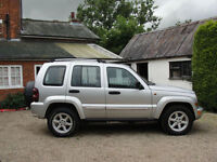 2007 JEEP CHEROKEE 2.8 CRD AUTO LIMITED - FULLY LOADED - FULL SERVICE HISTORY -