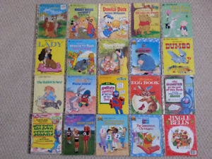 "Children's ""Golden"" Books and Games for Sale!"