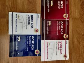 GCSE German and Spanish books