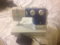 Singer sewing machine barely used