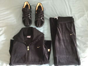 Nike shoes and tracksuit