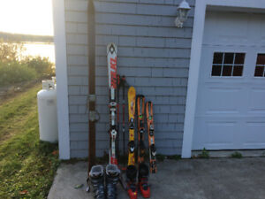 Downhill Skis or Boots $25.00 each pair.