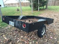 Winter project 5x8 utility trailer