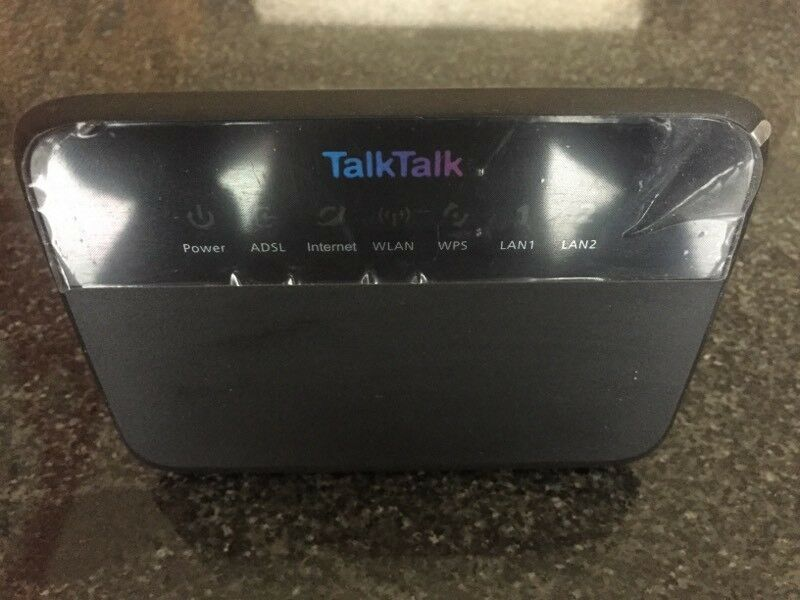 New Boxed Talk Talk Router With All Cables Splitter And