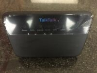 New Boxed Talk Talk Router with all cables, splitter and instructions