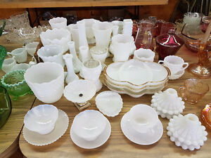Collectible Kitchenware and Antique Glass