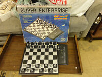 Very rare Chess Computer CXG-210C from 1985!  In great shape!