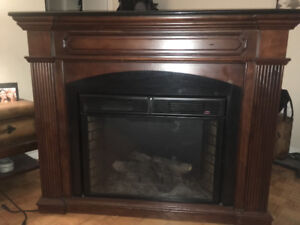 Classic fireplace mantle