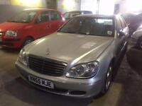 2005 Mercedes Benz S Class S280 SE 4dr Auto 4 door Saloon