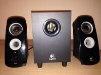 Logitech z323 pc speaker system