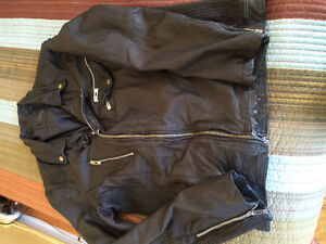 Brand new rogue state leather jacket