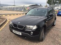 2006 X3 BMW SE ESTATE DIESEL BLACK WITH FULL SERVICE HISTORY ***4395***
