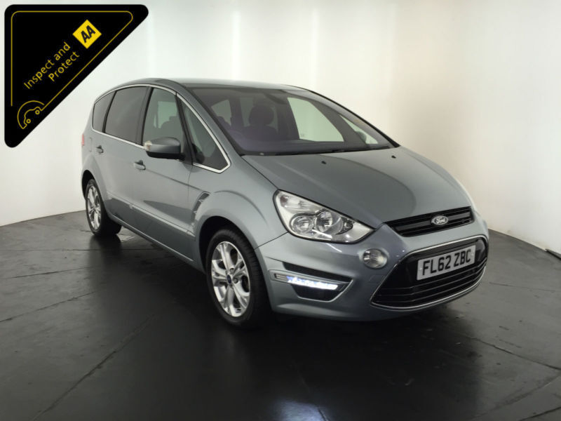 2012 62 FORD S-MAX TITANIUM TDCI 7 SEATER 1 OWNER SERVICE HISTORY FINANCE PX