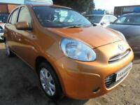 2013 13 NISSAN MICRA 1.2 ACENTA 5DR 80 BHP FINANCE WITH NO DEPOSIT AND NOTHING T