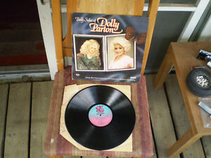 vinyl Dolly Parton/both sides & just because im a woman 33 tour