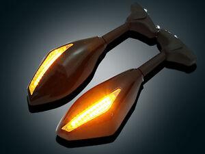 LED Mirrors Turn Signals for Suzuki GSXR 600 750 1000 2001~2005, 2009-2012