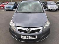 2006 Vauxhall Zafira 1.6 i 16v Life 5dr