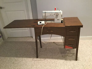 ELNA Sewing Machine 390B - circa 1980's
