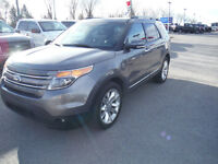 2013 Ford Explorer Limited SUV, Navigation with Leather interior