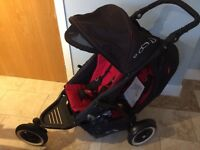 Phil & Teds dot double buggy