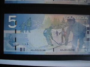 $ 5.00 radar incirculé Saint-Hyacinthe Québec image 6