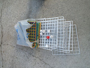 Wire Racks for Building and Storage