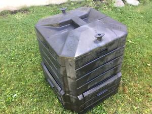 Composteur Soilsaver Mark IV deux portes