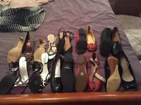 Bundle of ladies shoes most not worn