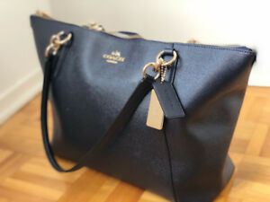 NEW Coach Navy blue Tote Hand bag