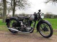 Norton ES2 1937 500, Rare, Pre-War, Girder Rigid