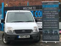 2013 13 FORD TRANSIT CONNECT 1.8 T200 LR 5D 75 BHP SWB PANEL VAN DIESEL