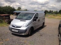 Vauxhall vivaro 08 runner with no clutch 1 year MOT