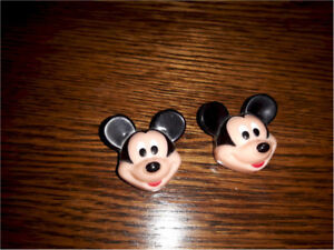 Pair of Mickey Mouse Collectible Button Covers