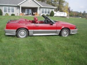 1989 Ford Mustang GT Fox Body Convertible 302 V8