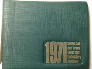 1971 Dodge dealership data books Strathcona County Edmonton Area image 5