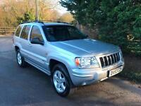 53 REG JEEP GRAND CHEROKEE OVERLAND 2.7 CRD TURBO DIESEL AUTOMATIC 4X4