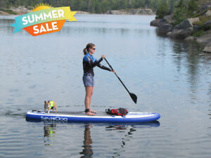 """SEA DOG Inflatable Paddle Board Package: 10'6 - 12'6"""" NEW STOCK!"""