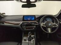 2018 BMW 520D M SPORT AUTO VIRTUAL DASH LEATHER HEATED SEATS SAT NAV SVC HISTORY
