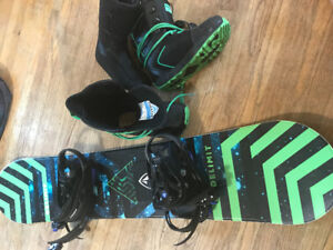 Snowboard/Bindings and Boots