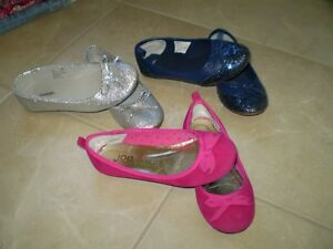 3 Pairs of Girl's Shoes - Size 13