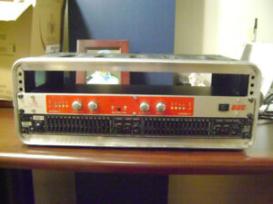 Rane15B Equalizer and BBE Sound Maximizer 482i all in one rack.