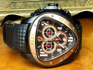 Lamborghini Mens Chrono spyder watch rose gold