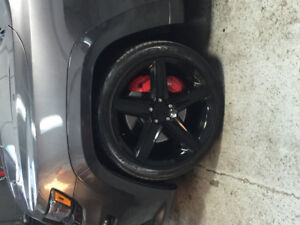Jeep srt8 22 rims and tires