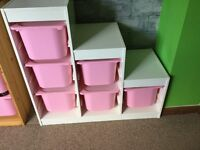 IKEA TROFAST 6 box Storage unit