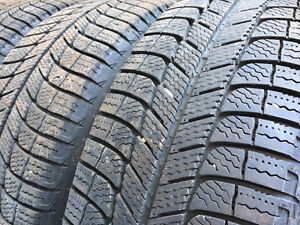 "Four Michelin XIce3 - 225/60 R16 102H on 16"" steel rims London Ontario image 1"