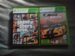 Selling Forza Horizon and GTA 5 for Xbox 360!!