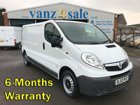2013 - Vauxhall Vivaro 2.0CDTi VAN ( 115ps ) ( EU V ) 2012MY 2900 LWB