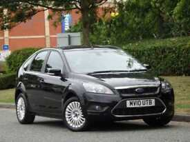 Ford Focus 1.6 2010 Titanium +HEATED SEATS +KEYLESS ENTRY +1 OWNER+FSH +WARRANTY